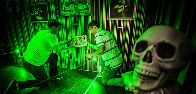 Escape room Pandora room Madrid