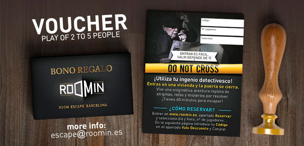 Escape room Roomin Barcelona