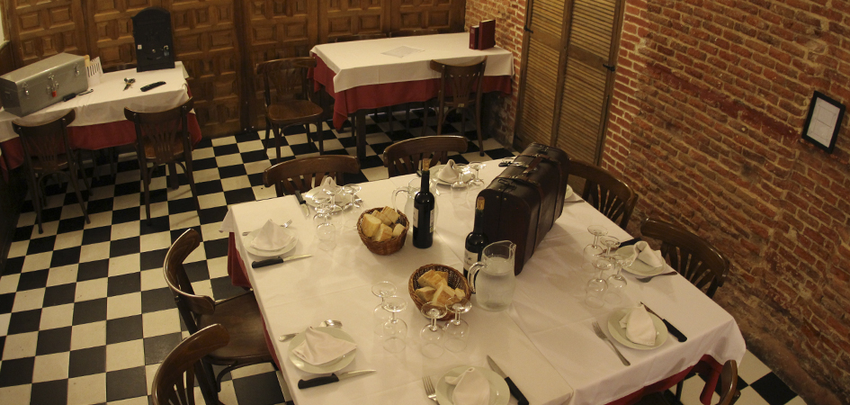Cena de despedida conjuntas en Madrid