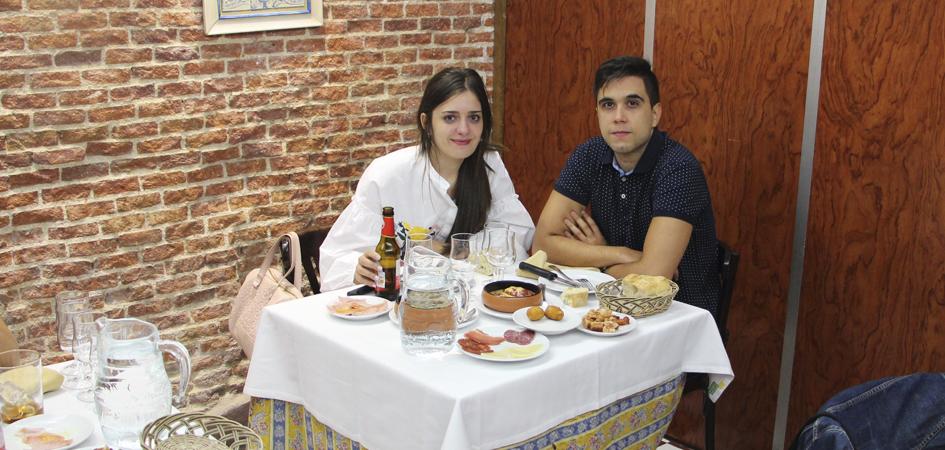 Cena de San Valentin Madrid