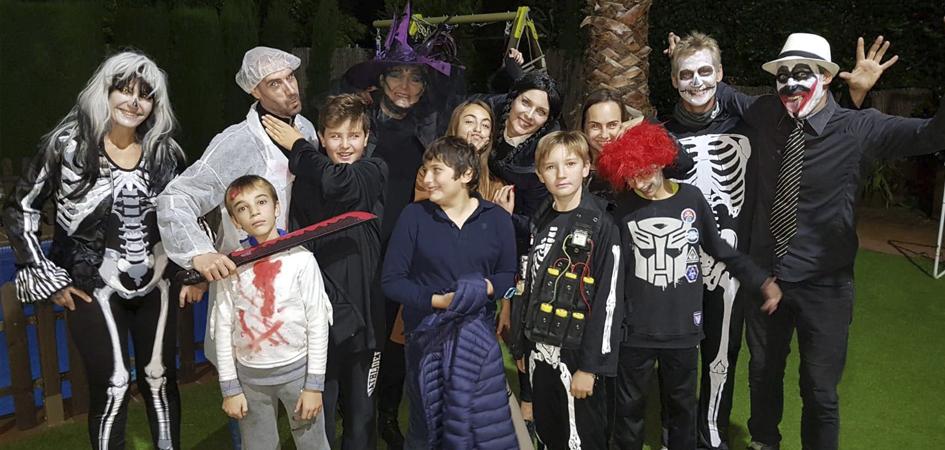 Fiestas de halloween para niños en Madrid