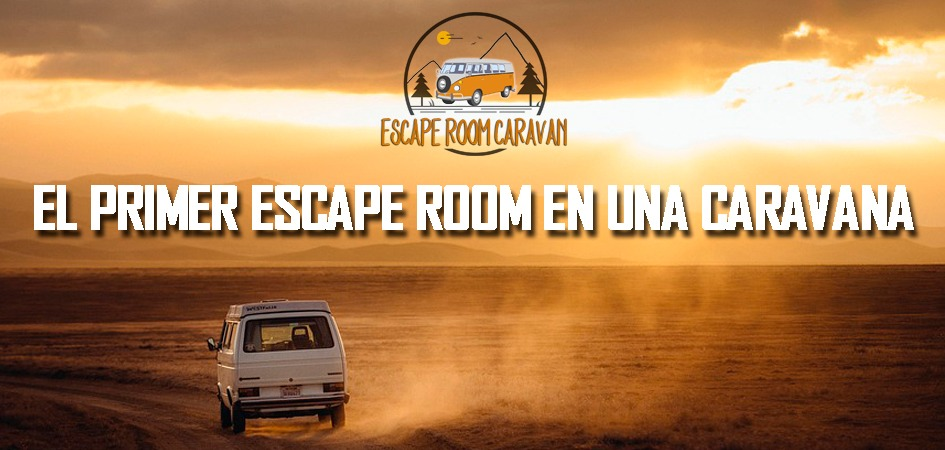 Escape room caravan.