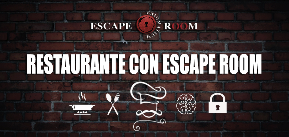 Escape room con comida y cena para Halloween en Madrid.