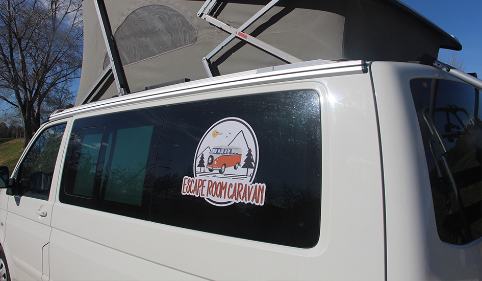 Escape room caravan en Volkswagen T5