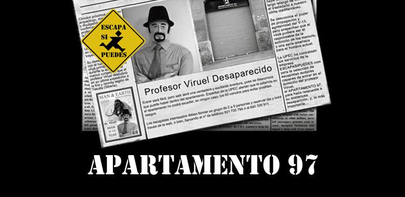 Juego de escape Apartamento 97 Barcelona