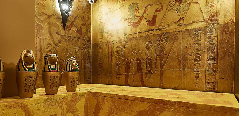 Escape room Aventura en Egipto Madrid