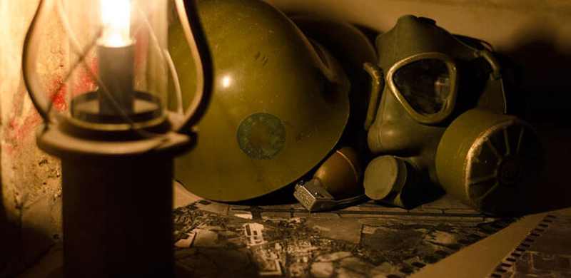 Escape room Bunker nuclear Valencia