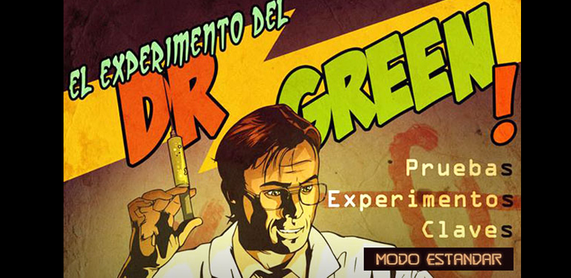 Escape room DR. Green Madrid