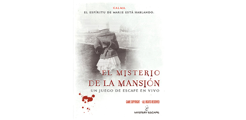 Juego de escape El misterio de la mansión Barcelona