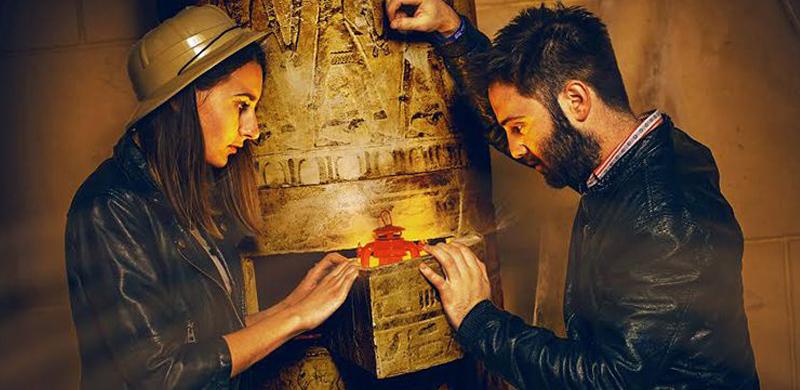 Juego de escape El misterio de Nefertiti Valencia