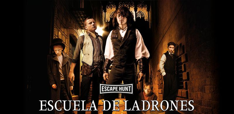 Juego de escape Escuela de ladrones Barcelona