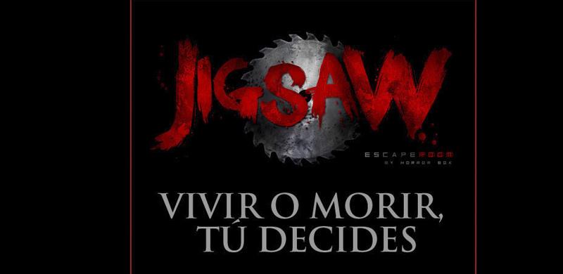 Escape room Jigsaw Barcelona
