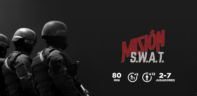 Escape room Mission swat Barcelona