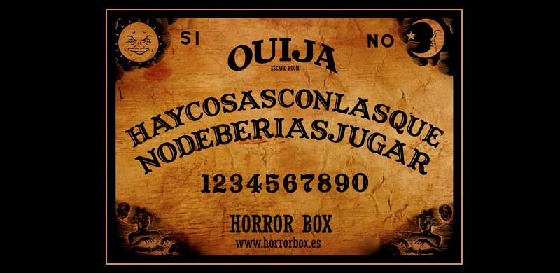 Juego de escape Ouija Barcelona