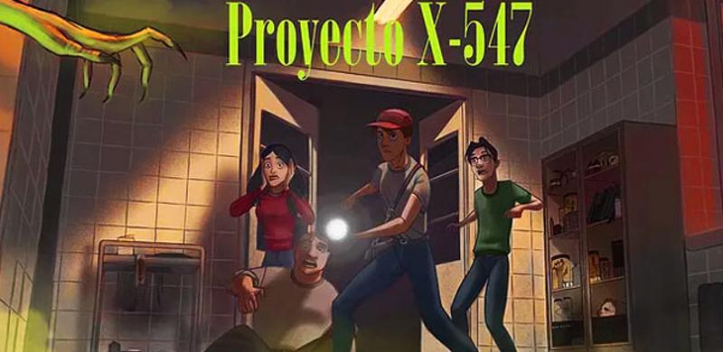 Escape room Proyecto x547 Madrid