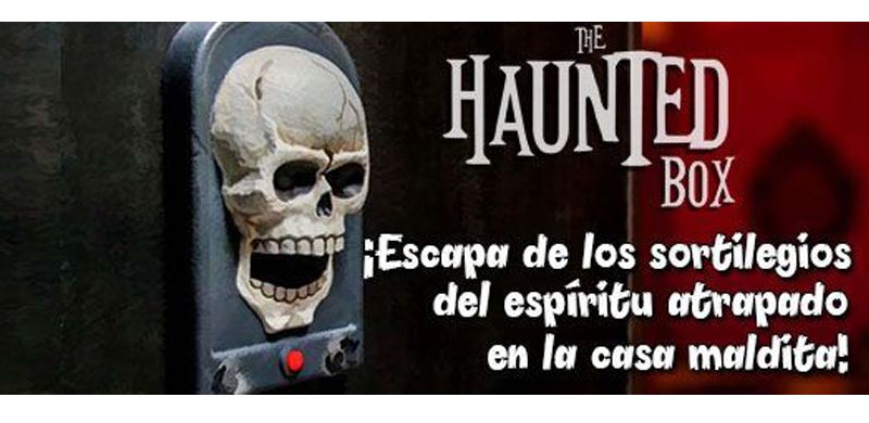 Juego de escape The haunted Madrid