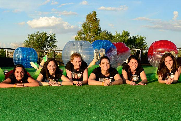 Actividades bubble soccer Salamanca