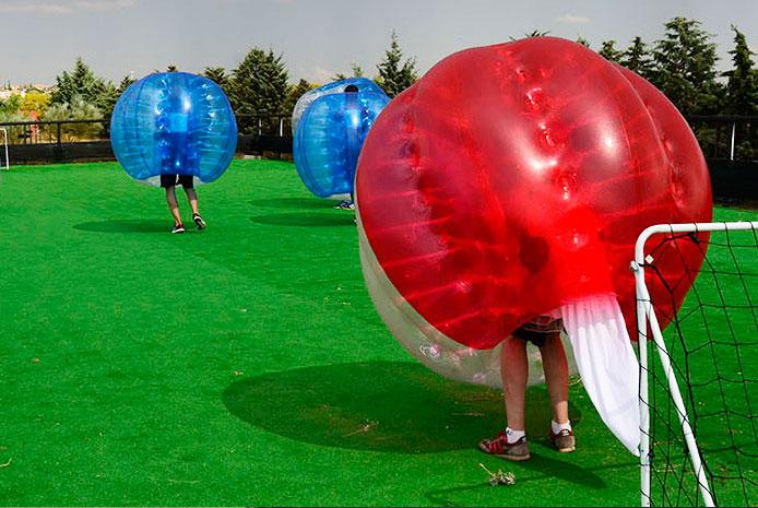 Actividades fútbol burbuja en  Salamanca