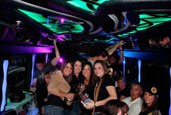 Autobús de fiesta para despedidas Madrid