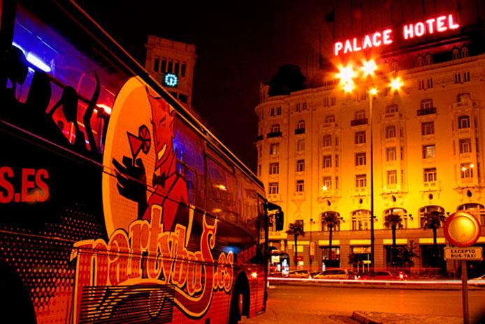 Autobús de fiesta por Madrid partybus