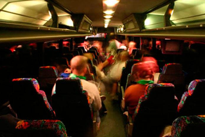 Autobuses para despedidas en Madrid