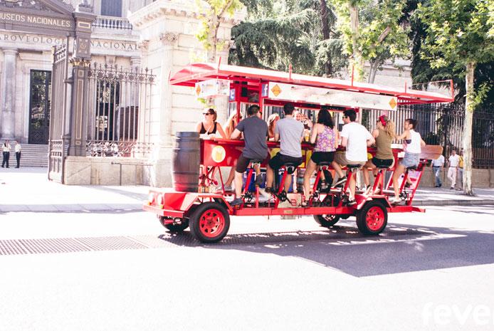 Bici bar Madrid