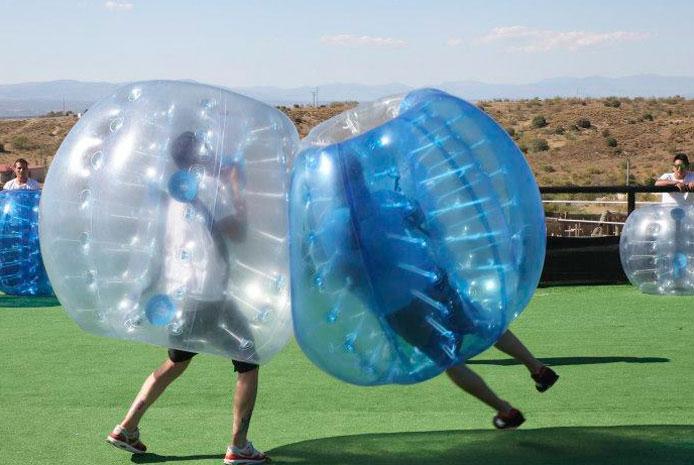 Bubble soccer Salamanca