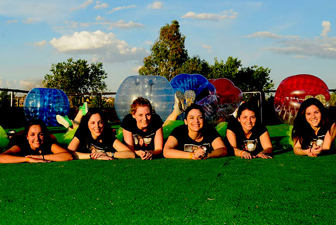 Campo de bubble soccer Madrid