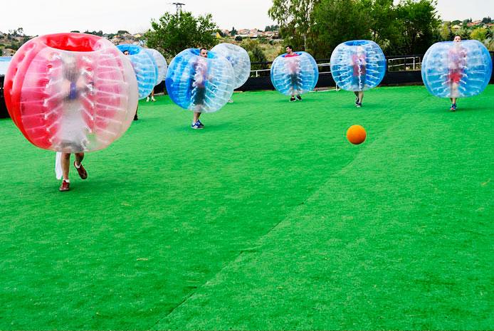 Campo de  futbol burbuja Salamanca
