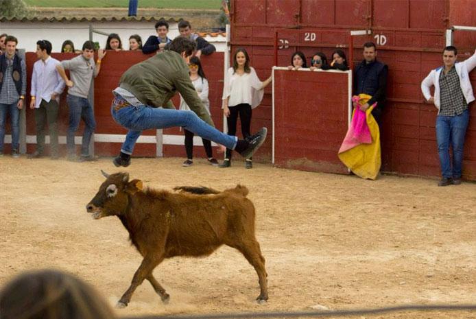 Capea barata en Salamanca