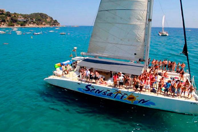 Catamarán Barcelona