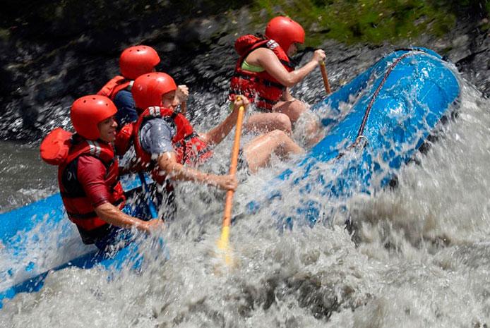 Despedidas con actividad de rafting en Salamanca