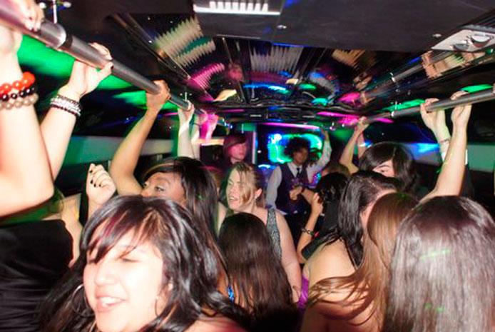 Despedidas de soltera en partybus Madrid