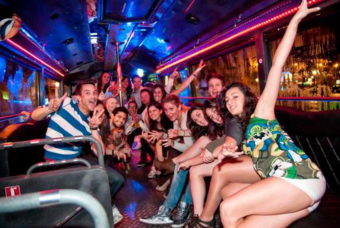 Despedidas en partybus Madrid
