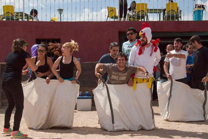 Despedidas Gymkana antispa divertida en Madrid
