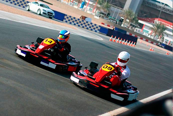 entrenamientos libres de karts Bilbao
