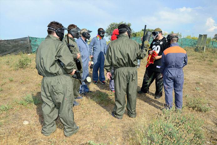 Escenarios de guerra paintball en Valencia