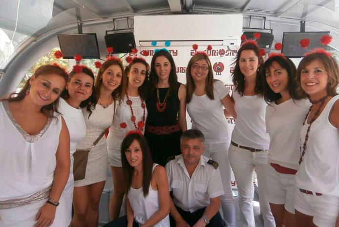 Fiesta barco despedida soltera Aranjuez