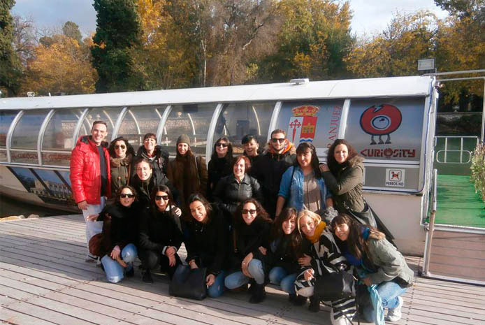 Fiesta barco despedida soltero Aranjuez