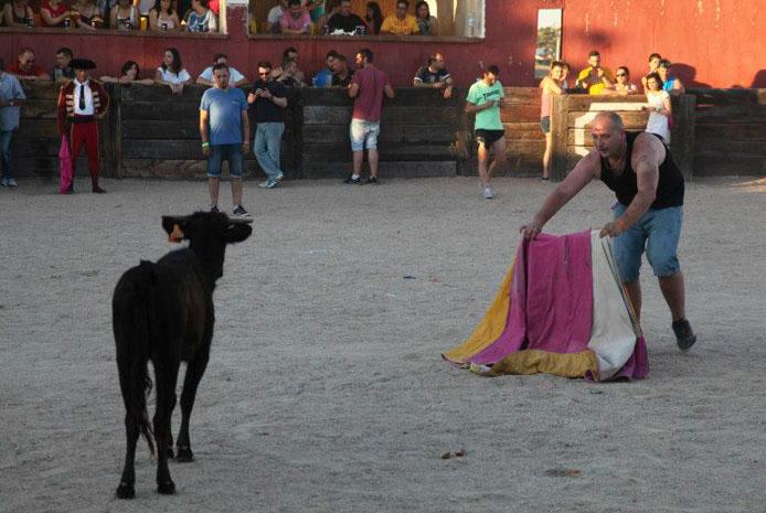 Fiesta campera con capea