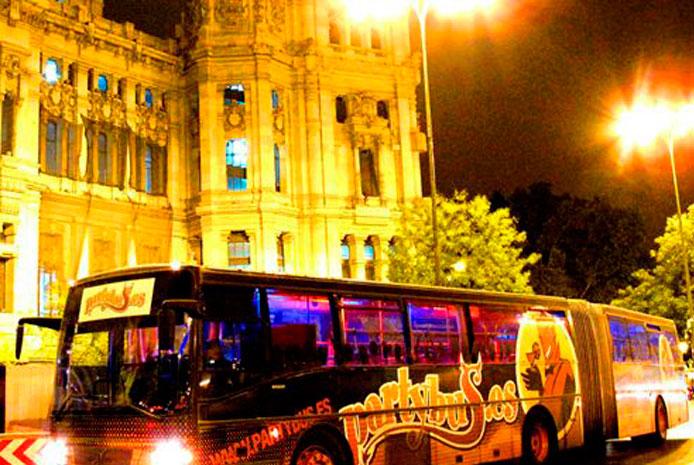 Fiesta de despedida en partybus Madrid