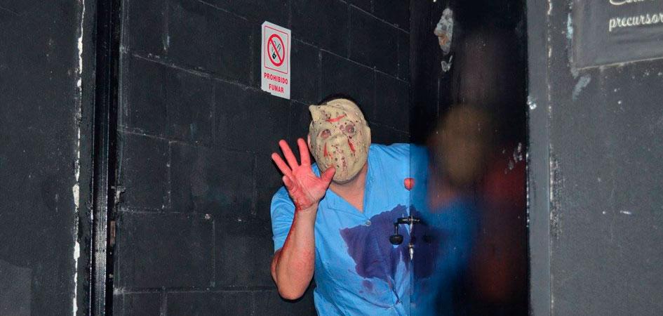 Fin de semana terrorífico en Madrid para despedidas