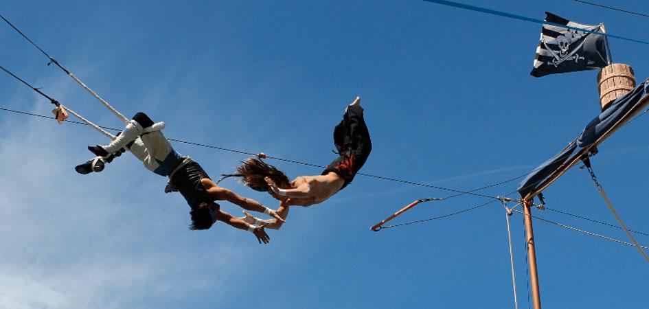 Primera escuela de trapecio en Madrid