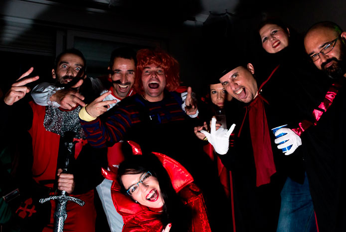 Halloween en ElTemplodelPlacer Madrid