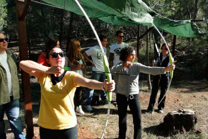 pruebas multiaventura tiro con arco Valencia