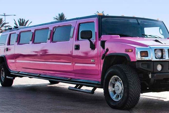 Limusinas Hummer rosa baratas Barcelona
