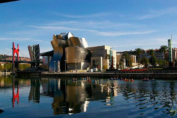 paseos en canoa Bilbao