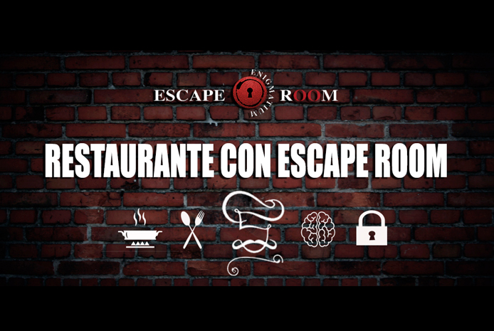 Restaurante para San Valentín EnigmatiumRoom Valencia