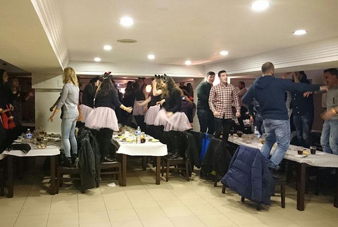 Restaurante espectáculo despedidas Salamanca