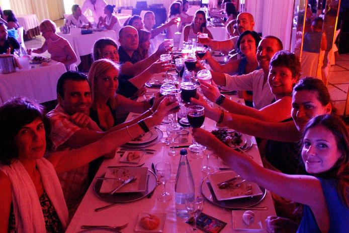 Restaurante espectaculo y de misterio Barcelona